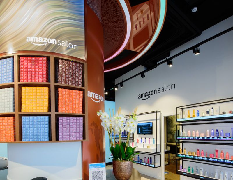 Amazon abre salão de beleza 'tech'. Imagem: Reprodução/Amazon