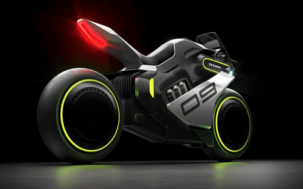 Segway Apex H2: a primeira moto a hidrogênio elétrica. Imagem: Segway/Divulgação