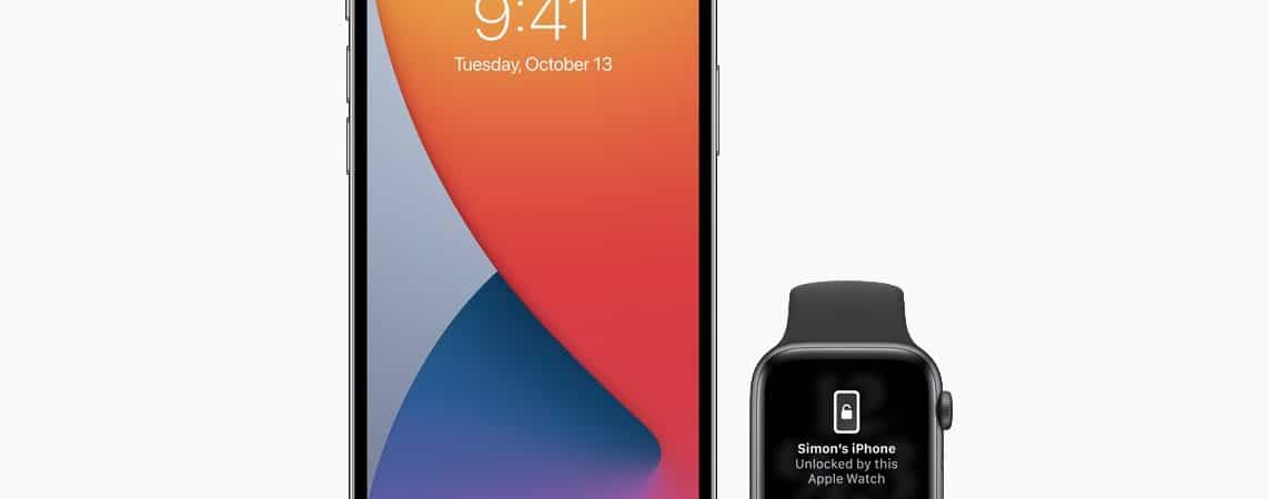 iPhone iOS 14.5 and Apple Watch