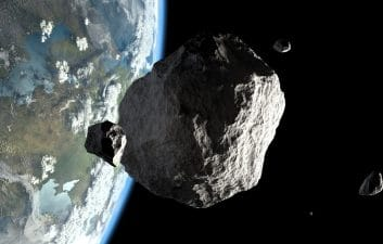 "NASA releases photo of ""damage"" by spacecraft on asteroid Bennu"
