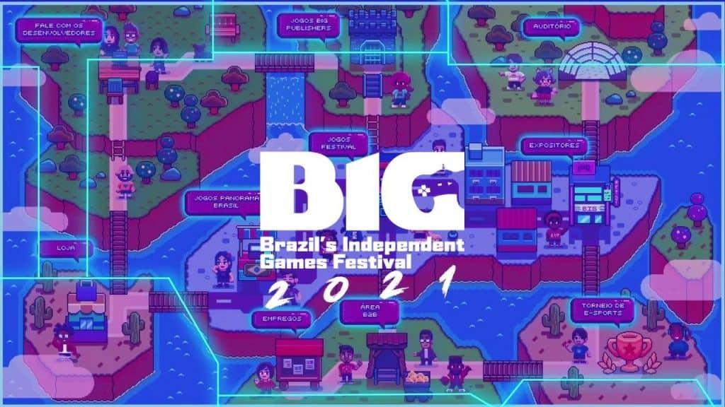 BIG Festival 2021 será 100% digital. Imagem: Divulgação
