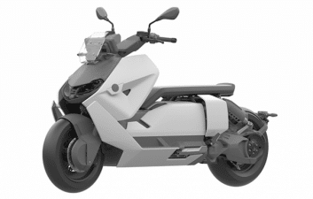 Electricity on two wheels: BMW prepares to launch CE 04 electric scooter