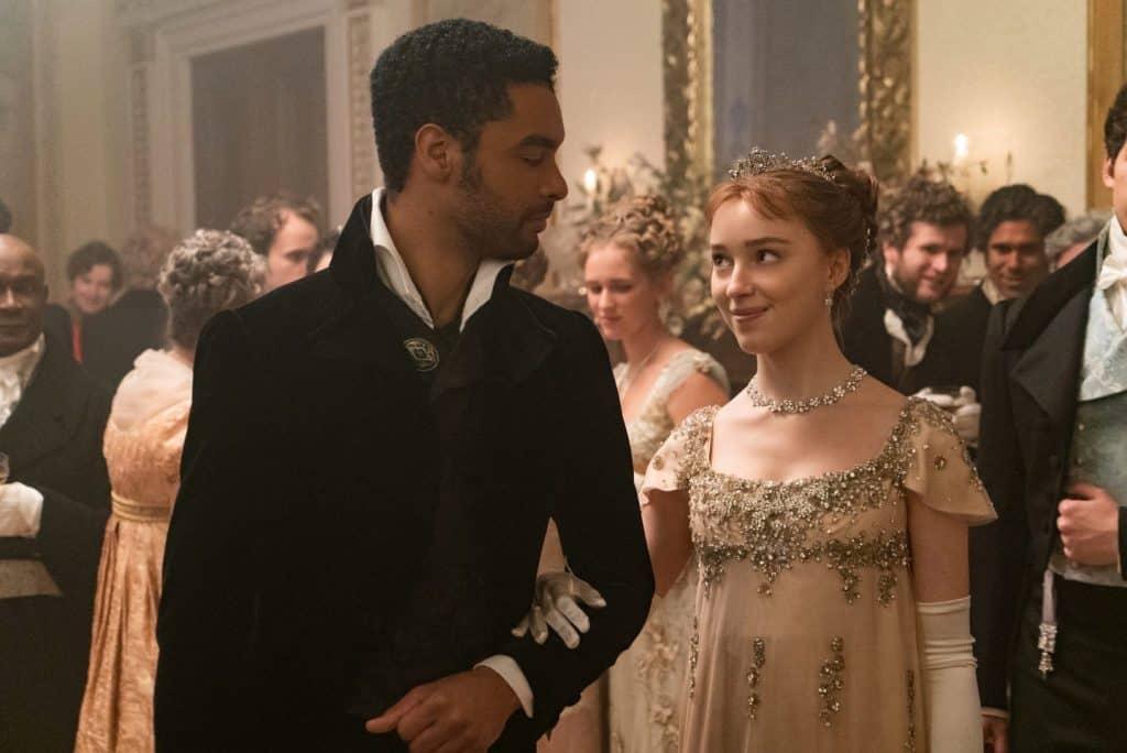 A primeira temporada de 'Bridgerton' foi sucesso na plataforma de streaming . Imagem: Netflix/Divulgação