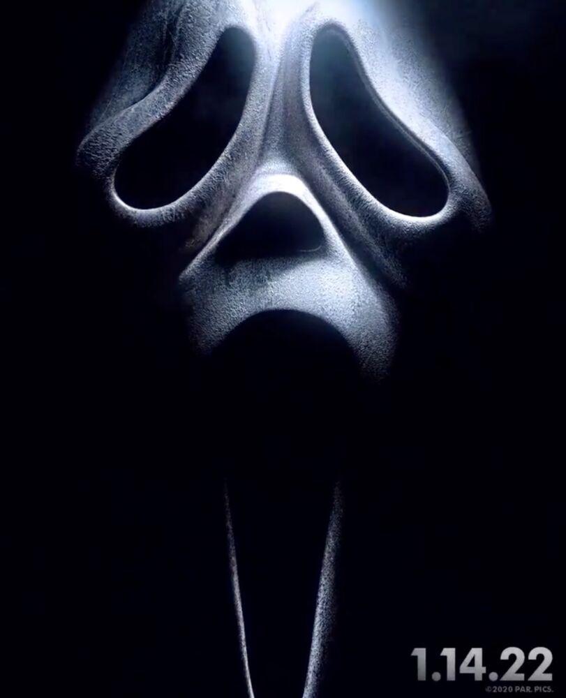 Cartaz oficial de 'Pânico 5'. Imagem: Paramount/Divulgação