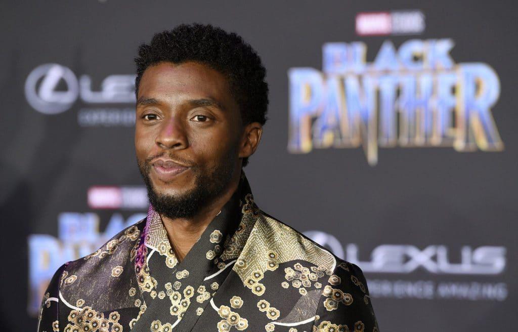 Chadwick Boseman foi o 'Pantera Negra' na Marvel de 2016 a 2020. Imagem: Twitter @MarvelStudios/Reprodução