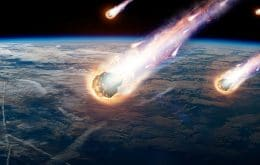What is the risk of a person dying from a meteorite?