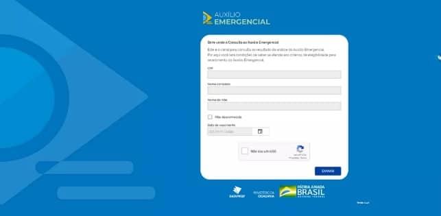 Saiba como consultar se tem direito ao Auxílio Emergecial pelo Dataprev. Imagem: Reprodução