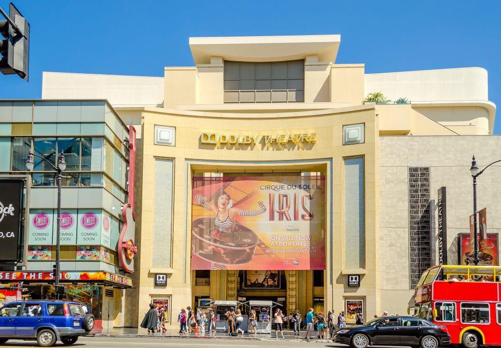 Dolby Theatre, local onde costuma ocorrer as cerimônias do Oscar. Imagem: Marco Rubino / Shutterstock.com