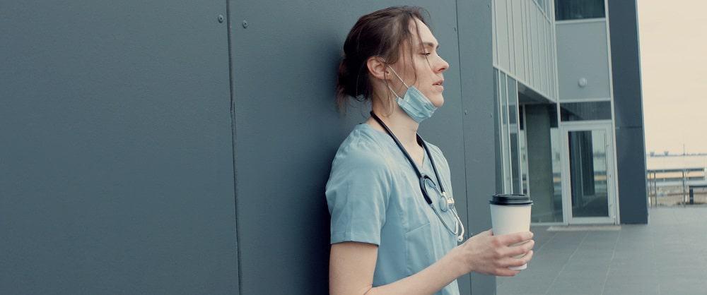 Enfermeira. Imagem: Shutterstock