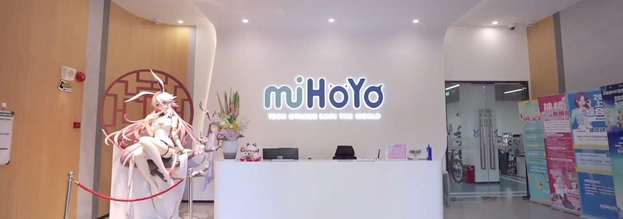 Estúdio miHoYo em Xangai, na China. Imagem: Divulgação