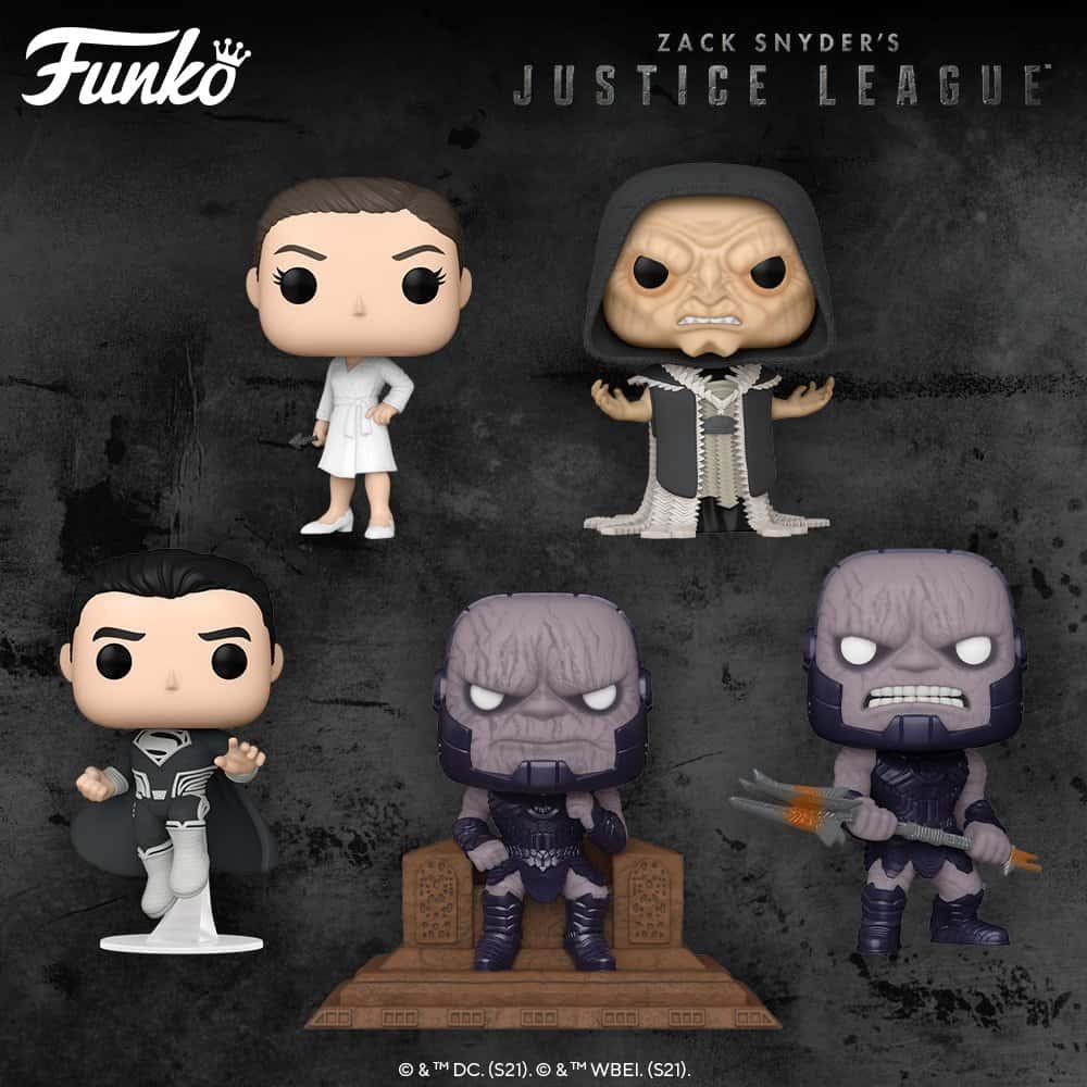 """Filme """"Liga da Justiça"""" vai ganhar bonecos da Funko, em homenagem ao lançamento do flme"""