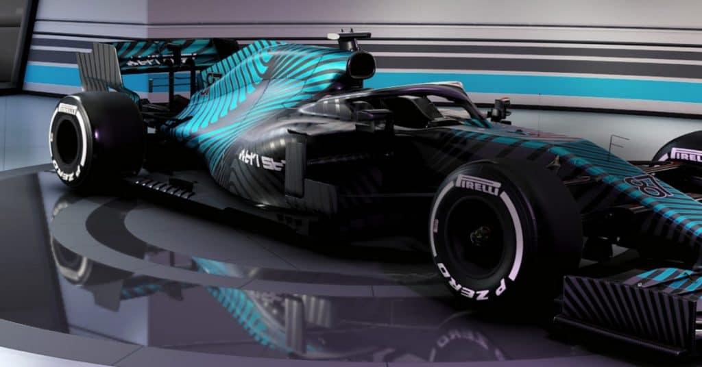 'F1 2021': detalhes do carros apresentados pela EA no anúncio do jogo. Imagem: EA/Divulgação