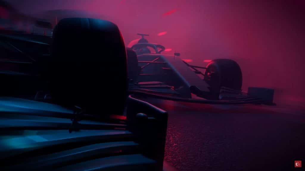 Cena oficial de 'F1 2021'. Imagem: EA/Divulgação