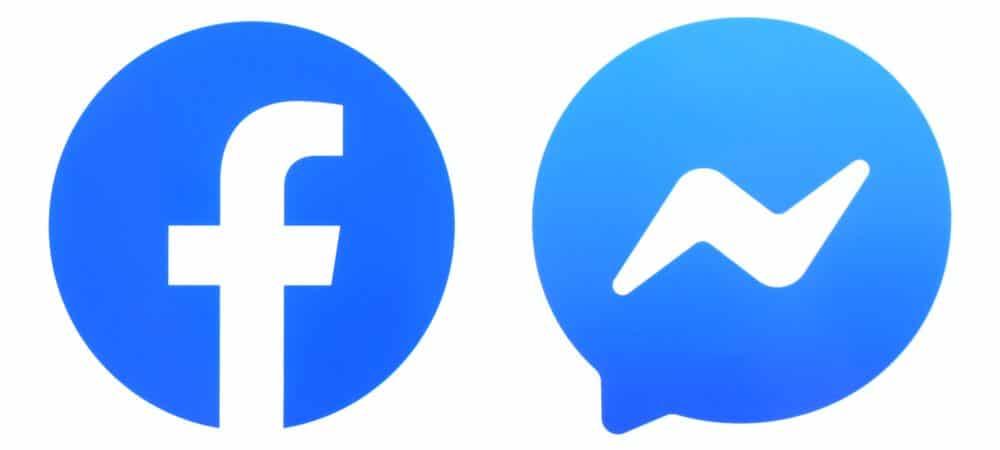 Logo dos aplicativos Facebook e Messenger