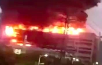 Fire at Apple supplier in China kills eight people