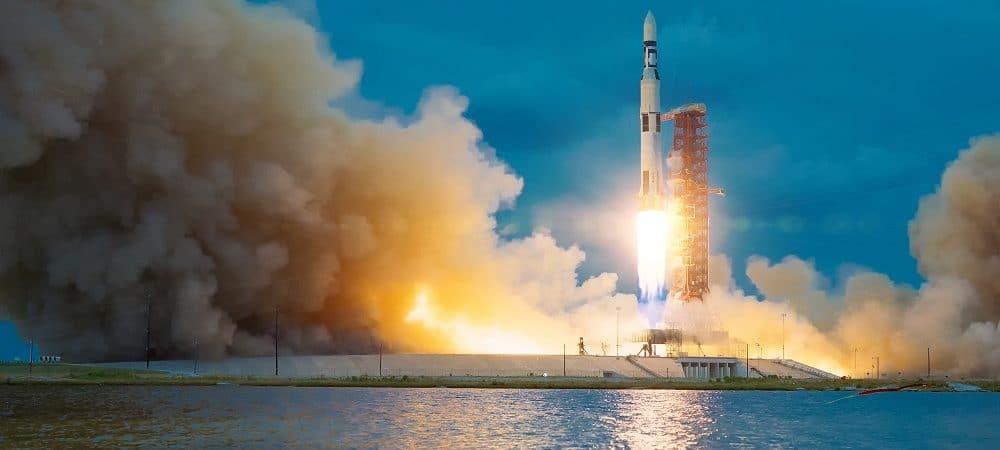 Cohete. Imagen: Shutterstock