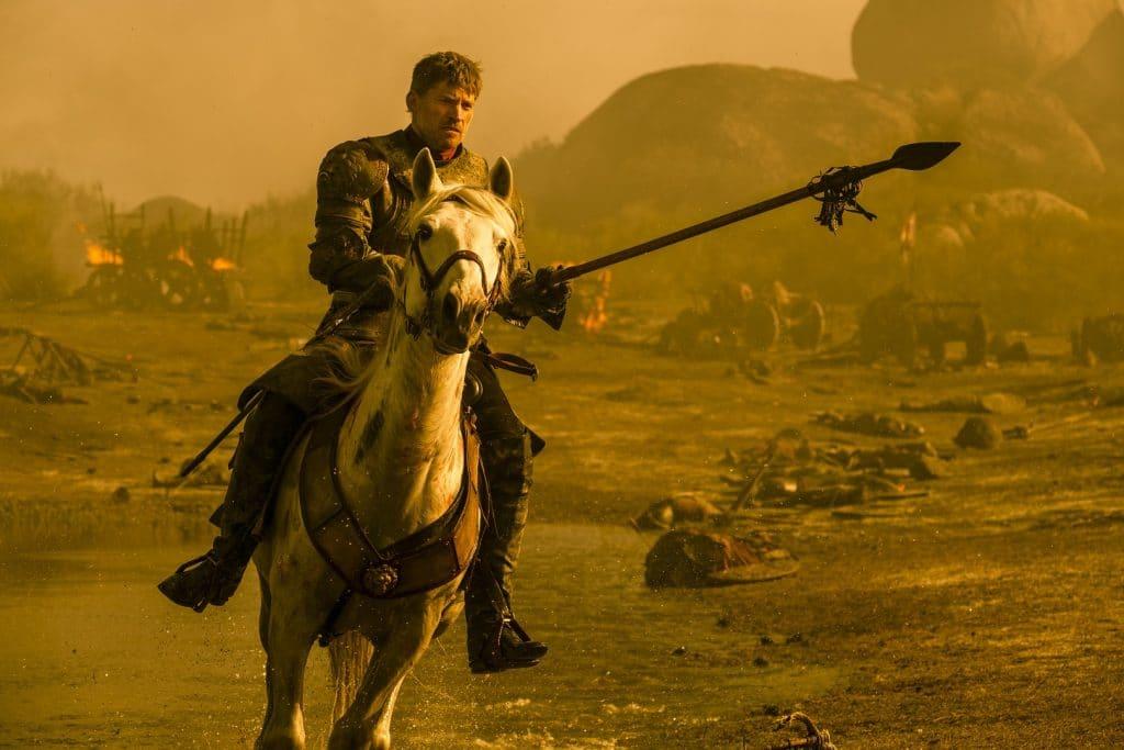 Nikolaj Coster-Waldau (Jamie Lannister) em 'Game of Thrones'. Imagem: HBO/Divulgação