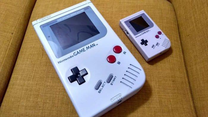 Game Man é quatro vezes maior que o Game Boy. Imagem: Reprodução/YouTube Grumpy Modeler