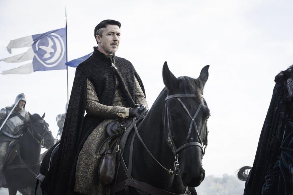 Aidan Gillen (Petyr Baelish) em 'Game of Thrones'. Imagem: HBO/Divulgação