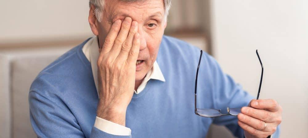 Paciente com Glaucoma