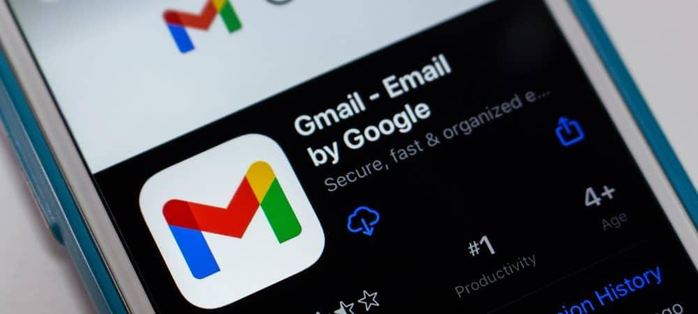 Logo do aplicativo do Gmail
