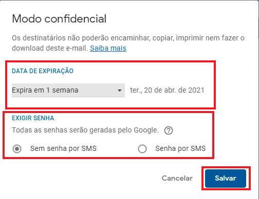 Print do Gmail