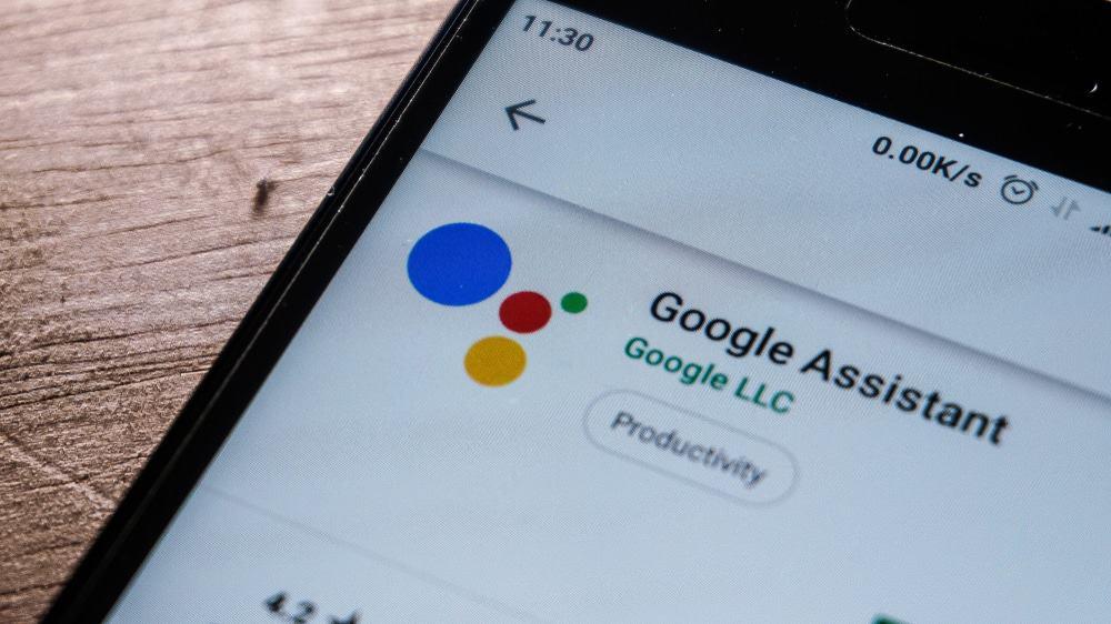 Logo do Google Assistente