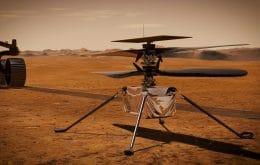 Ingenuity: helicóptero dura mais do que a Nasa esperava e fará sexto voo