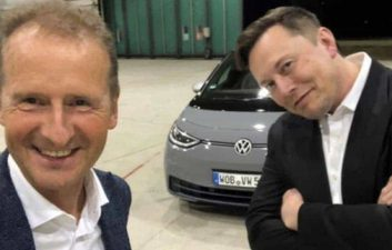 Elon Musk tried to hire Volkswagen's Herbert Diess as Tesla's CEO in 2015