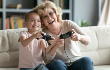 Unlimited fun: Seniors are increasingly attracted to video games