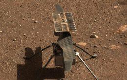 Ingenuity: helicóptero completa sétimo voo em Marte sem problemas
