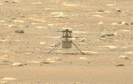 Perseverance gravou som do quarto voo do Ingenuity em Marte; ouça