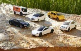 Tesla Roadster é o primeiro modelo da nova linha de carrinhos de brinquedo sustentáveis da Matchbox