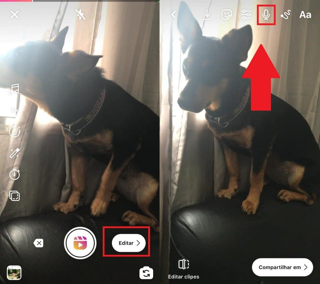 Saiba como usar a função Voice-over do Instagram Reels. Imagem: Olhar Digital