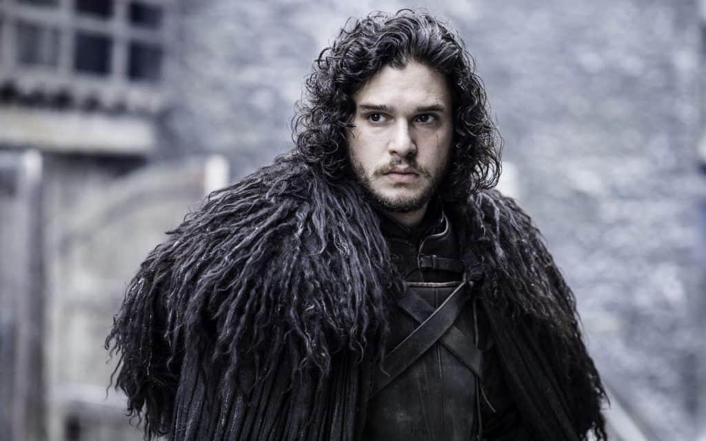 Kit Harington como Jon Snow em 'Game of Thrones'. Imagem: HBO/Divulgação