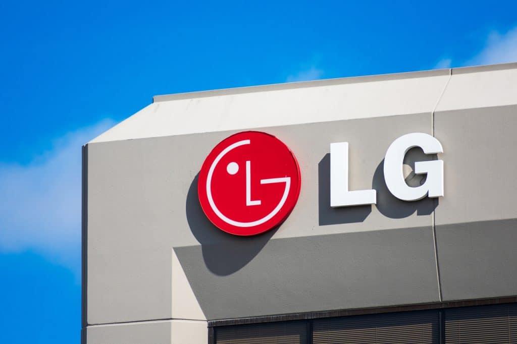 Fachada da empresa da LG
