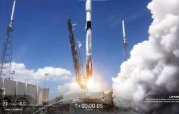SpaceX faz história: 100º voo do Falcon 9 completa rede de satélites Starlink