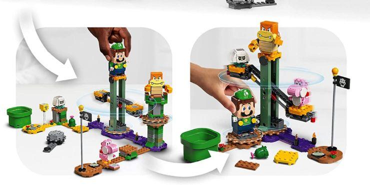 El set exclusivo de Luigi en LEGO Super Mario. Foto: Divulgación