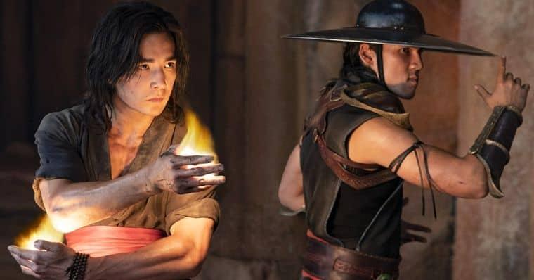 Liu Kang e Kung Lao no novo filme de 'Mortal Kombat'. Imagem: Warner Bros./Divulgação