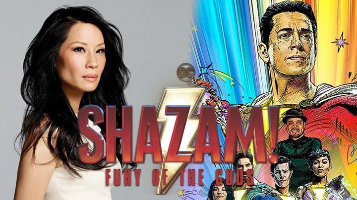 Lucy Liu será vilã em 'Shazam 2'. Imagem: Redes Sociais/Reprodução