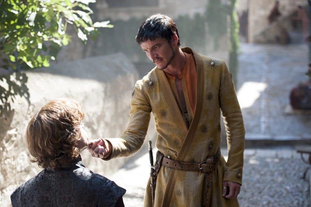 Pedro Pascal (Oberyn Martell) em 'Game of Thrones'. Imagem: HBO/Divulgação
