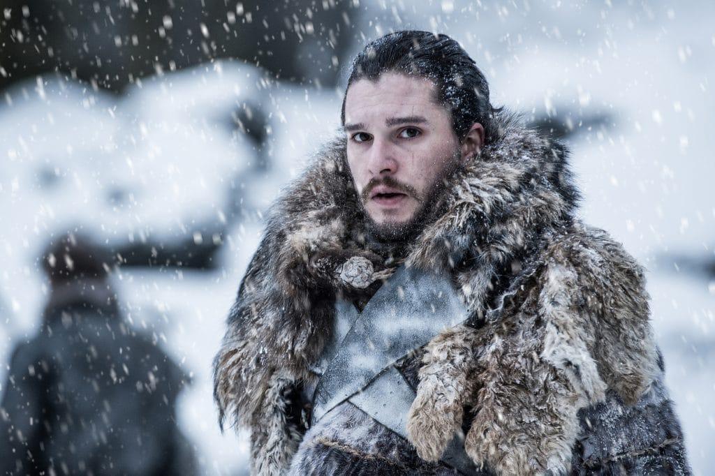 Kit Harington com Jon Snow em 'Game of Thrones'. Imagem: HBO/Divulgação