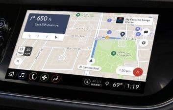 GM lanza un nuevo servicio de mapas basado en la nube para casi 1 millón de automóviles