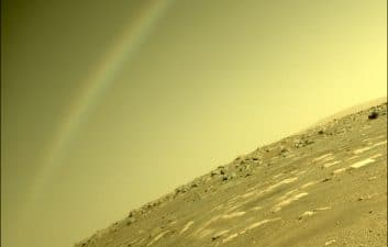 Martian rainbow: what formed a rainbow on Mars? Mystery remains