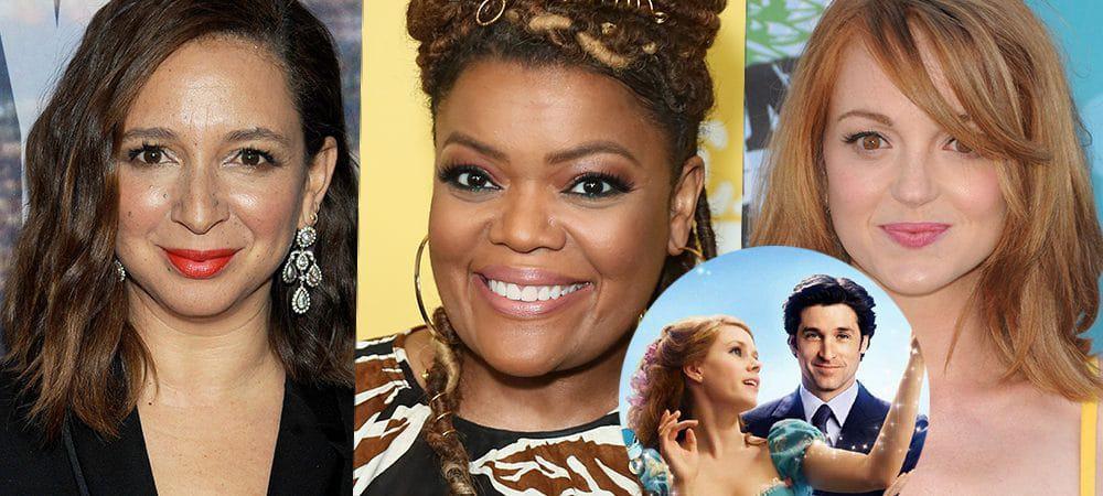 Maya Rudolph, Yvette Nicole Brown e Jayma Mays são confirmadas em 'Encantada 2'. Imagem: Reprodução/Screenrant