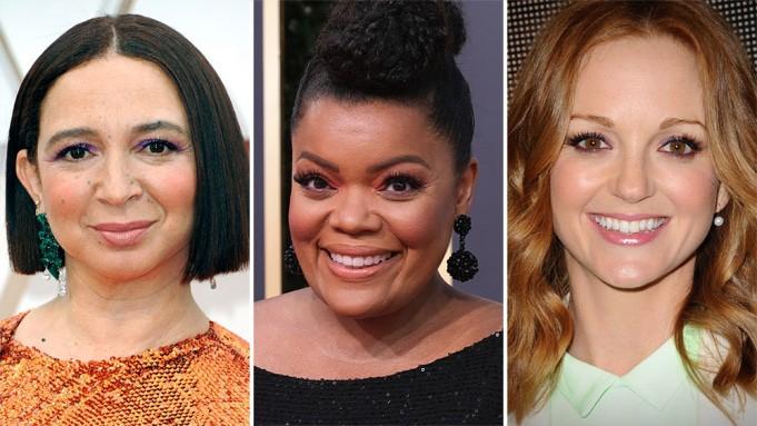 Maya Rudolph, Yvette Nicole Brown e Jayma Mays são confirmadas em 'Encantada 2'. Imagem: Reprodução/Deadline