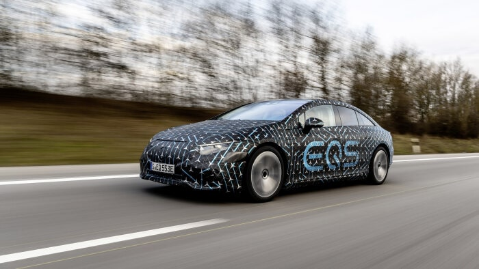 Specifications of the new Mercedes electric car. Image: Mercedes-Benz / Disclosure