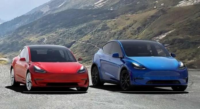Model 3 e Model Y em falta? Segundo fontes que acompanham a Tesla, sim. Imagem: vehiclesuggest.com/Reprodução