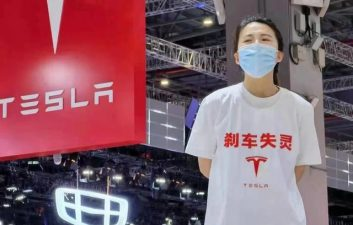 Chinese Shanghai Salon protester sues Tesla for defamation