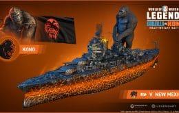 Jogo gratuito coloca 'Godzilla vs. Kong' em batalha naval
